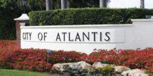 Atlantis locksmith | City of Atlantis Sign | Lock N More