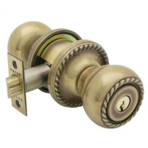 decorative doorknob lock