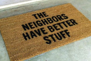 Home Security - The neighbors have better stuff