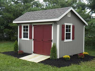 Shed Security | Backyard Storage Shed