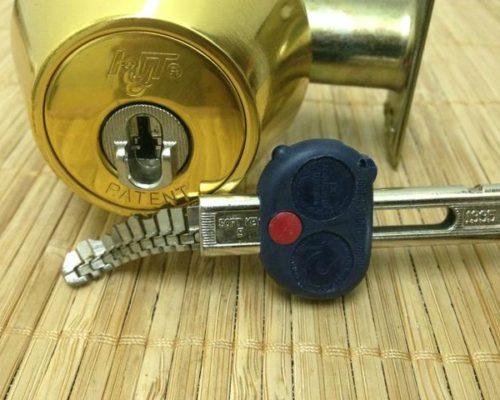 Chain Key Lock & Chain Key