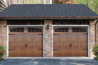 Garage door security | fancy brown garage doors | Lock N More