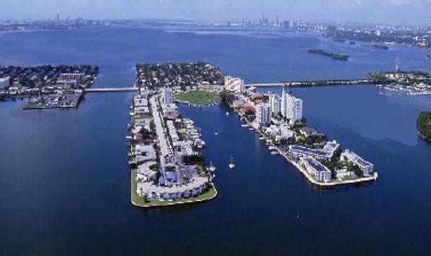 North Bay Village Locksmith | Aerial View of North Bay Village FL | Lock N More