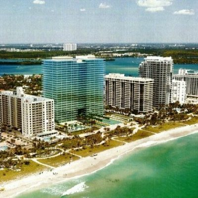 Bal Harbour beaches from the air | Lock N More Bal Harbour Locksmith