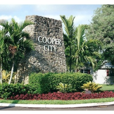 Cooper City Rock Wall Sign | Cooper City FL Locksmith