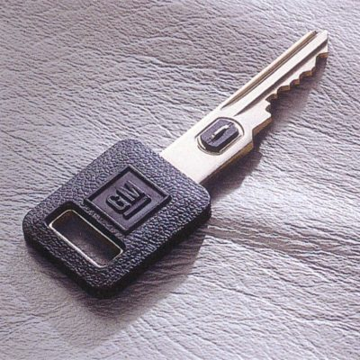 GM VATS Key - Car Key Showing VATS Resistor Along Key Shaft | Lock N More