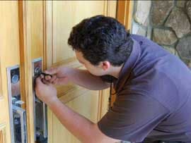 Change Your Locks | Locksmith Changing Locks on Home Front Door | Lock N More