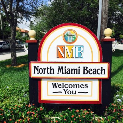 North Miami Beach Welcome Sign | North Miami Beach FL Locksmith
