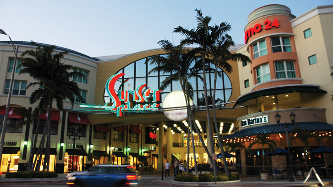 Sunset Place Mall | South Miami FL Locksmith
