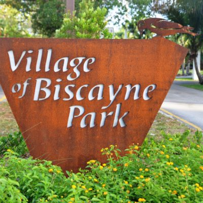 Village of Biscayne Park Sign | Biscayne Park FL locksmith