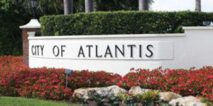 Atlantis locksmith | City of Atlantis Sign | Lock N More