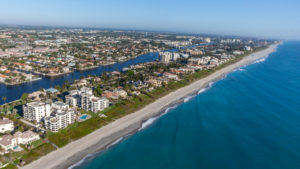 Delray Beach Locksmith | Aerial View Delray Beach | Lock N More