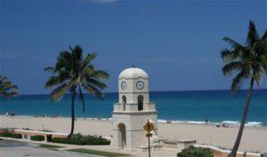 Palm Beach Locksmith | Clock Tower on Beach | Lock N More