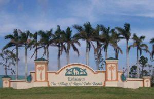 Royal Palm Beach Locksmith | Royal Palm Beach Welcome Sign | Lock N More