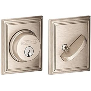 Best Door Locks | Schlage B60N 619 Deadbolt Lock | Lock N More