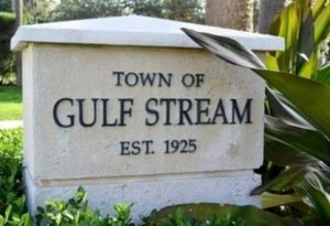 Gulf Stream Locksmith | Town of Gulf Stream Sign | Lock N More