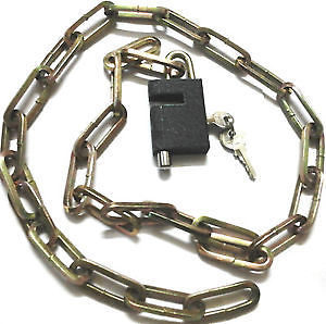 Good Bicycle Lock | Bicycle Chain Lock without Cover to Show Links | Lock N More